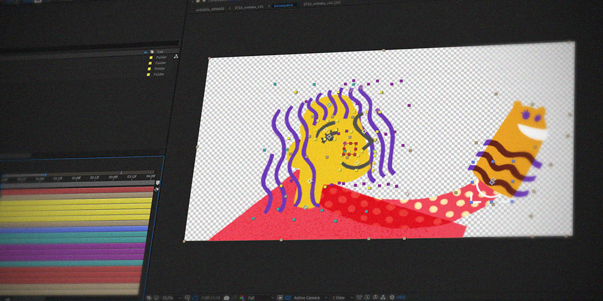 Screen Grab -  Adobe After Effects