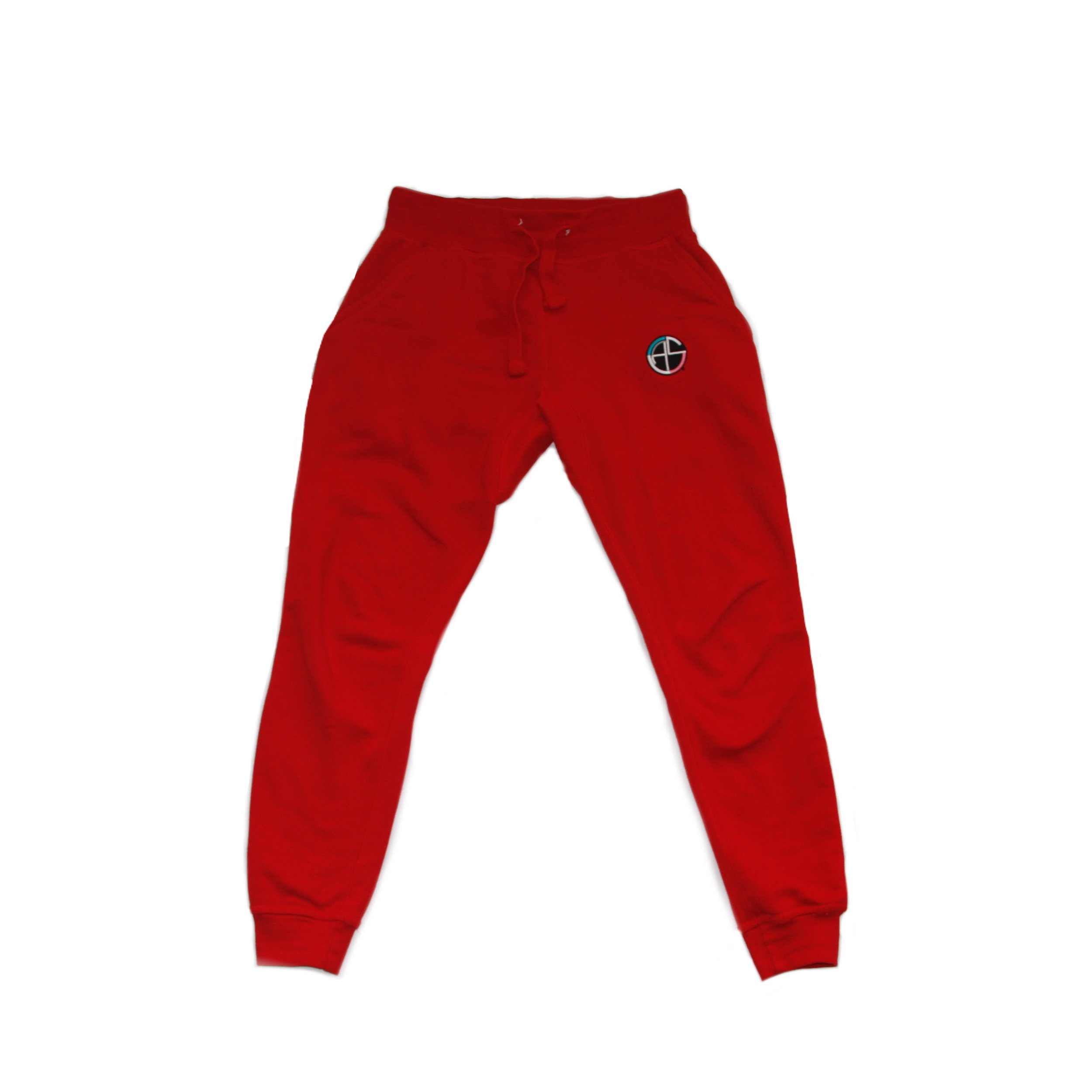 C.A.S. Red Joggers -