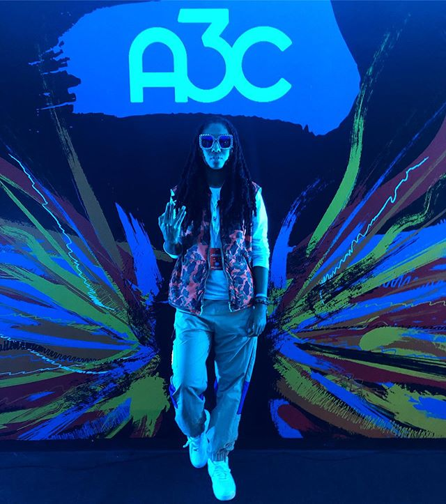 Peace to all of my supporters who pulled up on me for my performance @a3cfestival