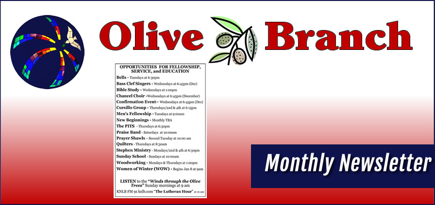 Olive Branch Newsletter