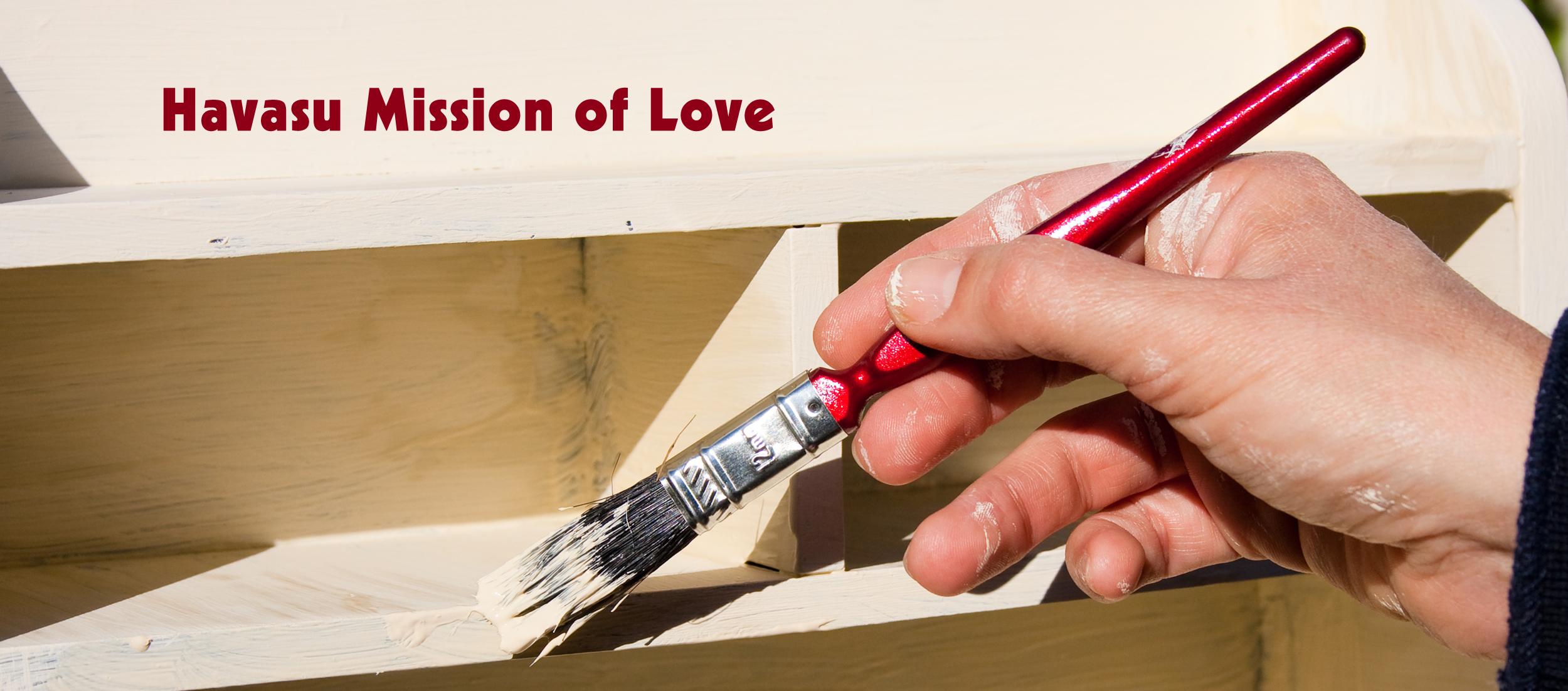 Havasu Mission of Love at Mount Olive Lutheran Church.