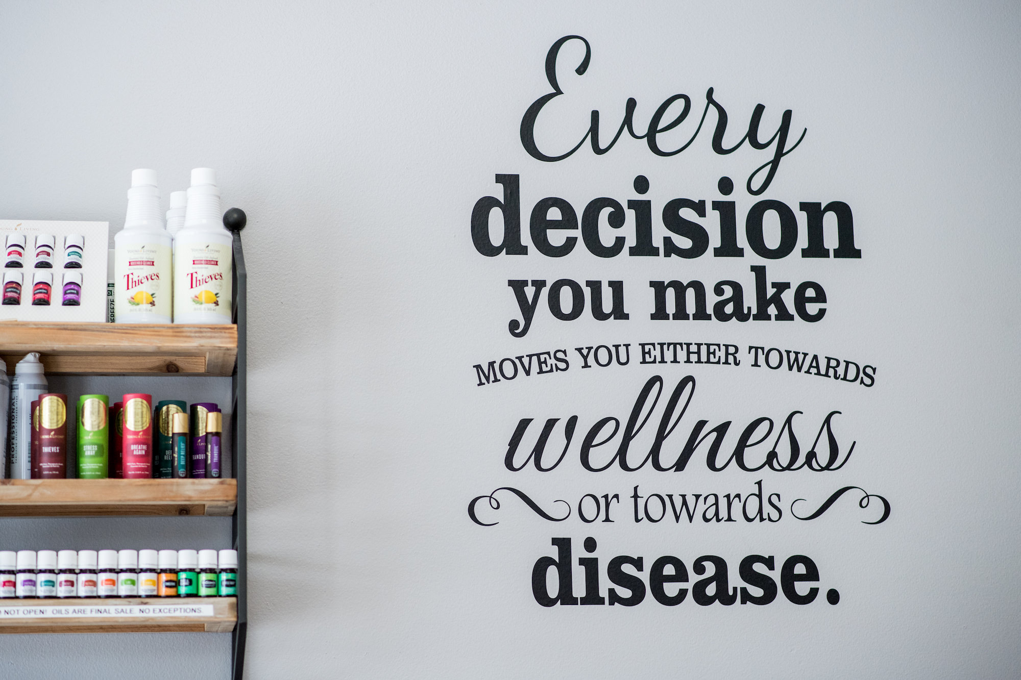 Live Well Chiropractic Young Living Essential Oils