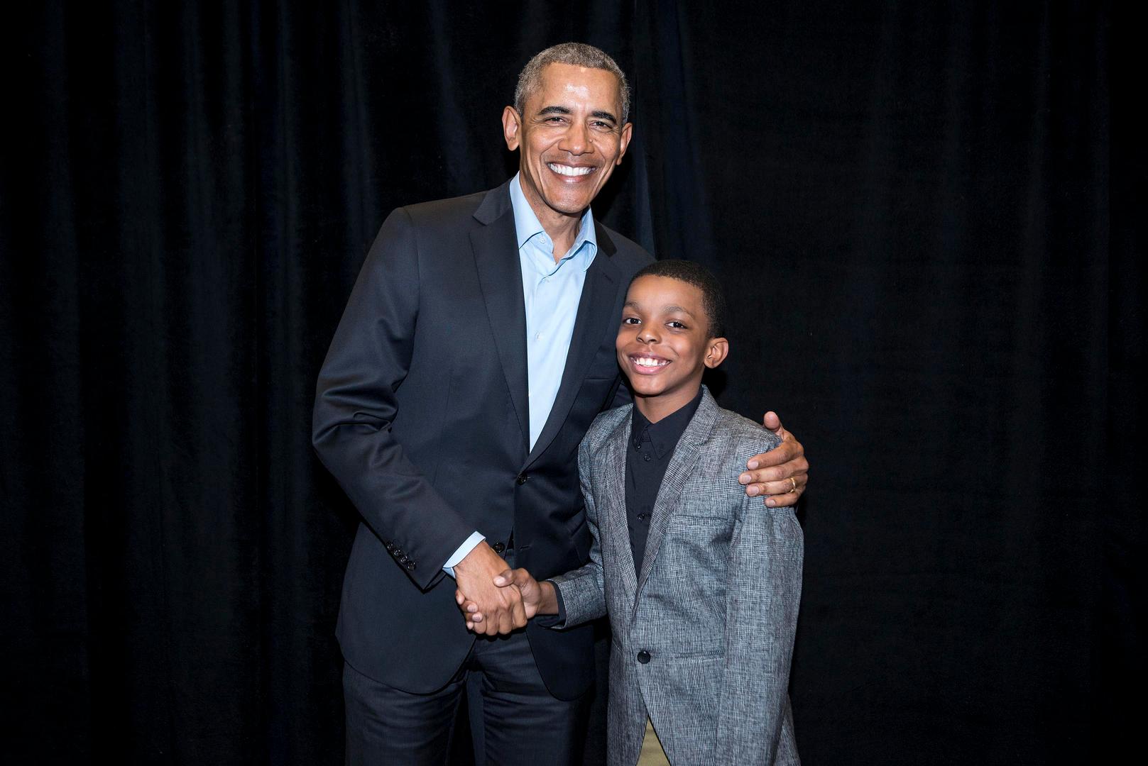 President Obama & Jahkil