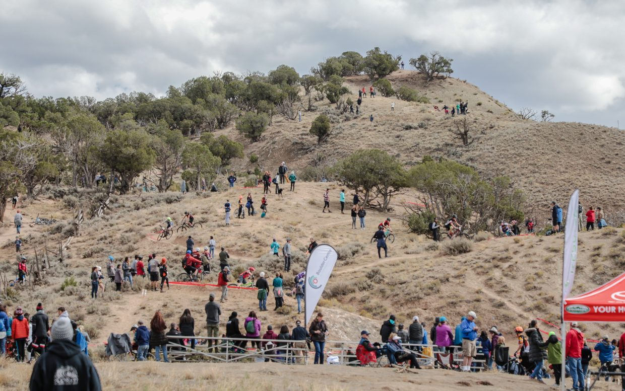 Hundreds turned out to see the Colorado High School Cycling League conference championship races in Eagle Oct. 6-7.