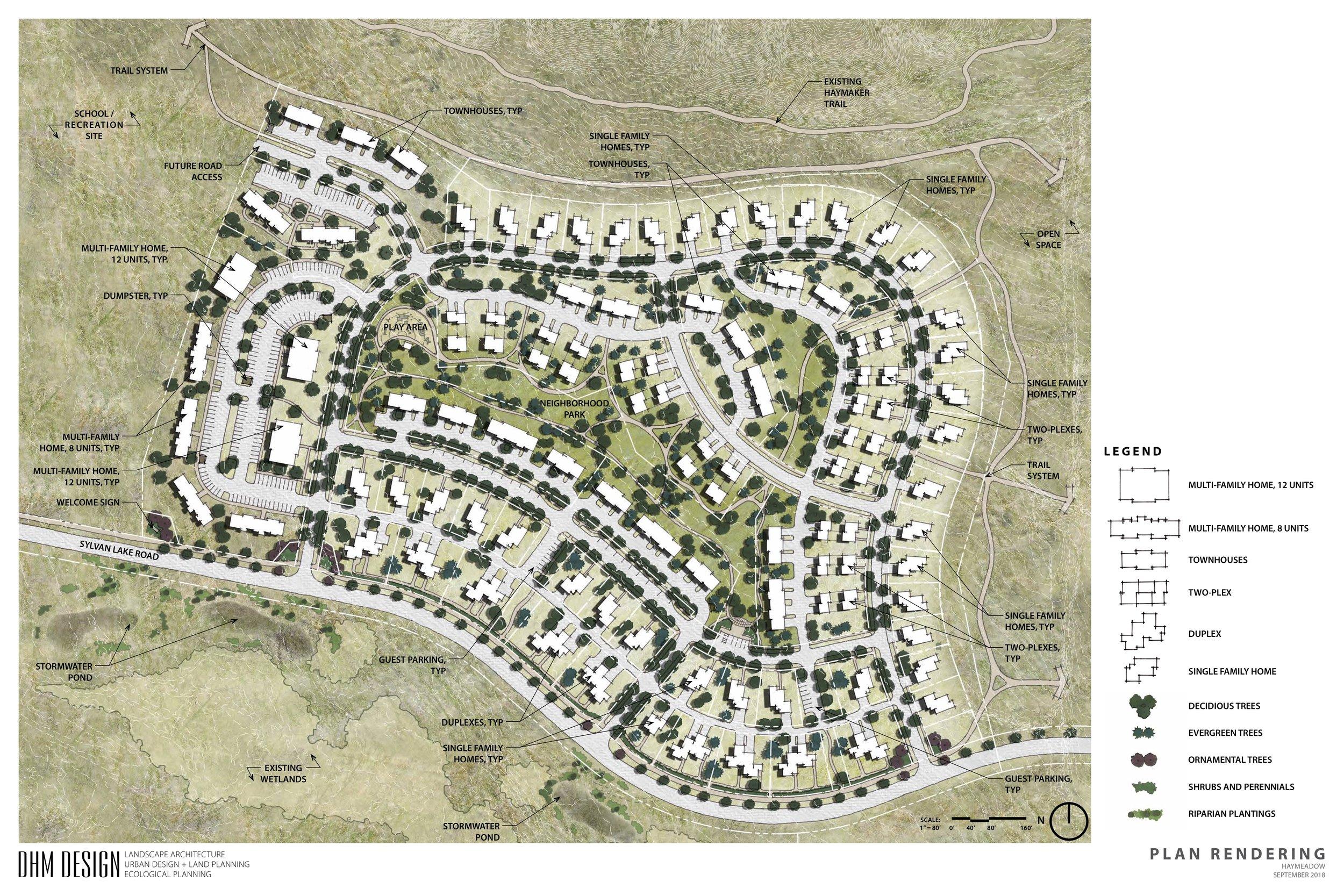 Site Plan Neighborhood A1