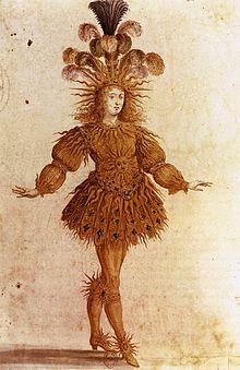 King Louis XIV in Ballet de la nuit,