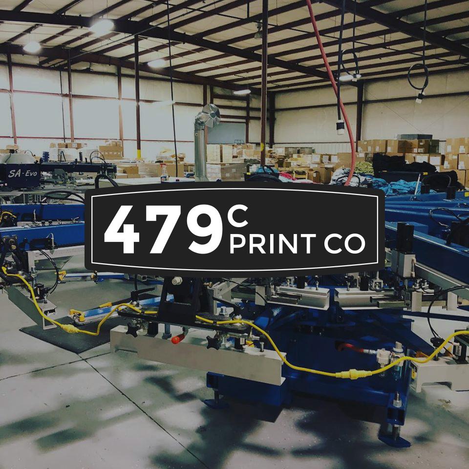 479c Print Co.  Branding
