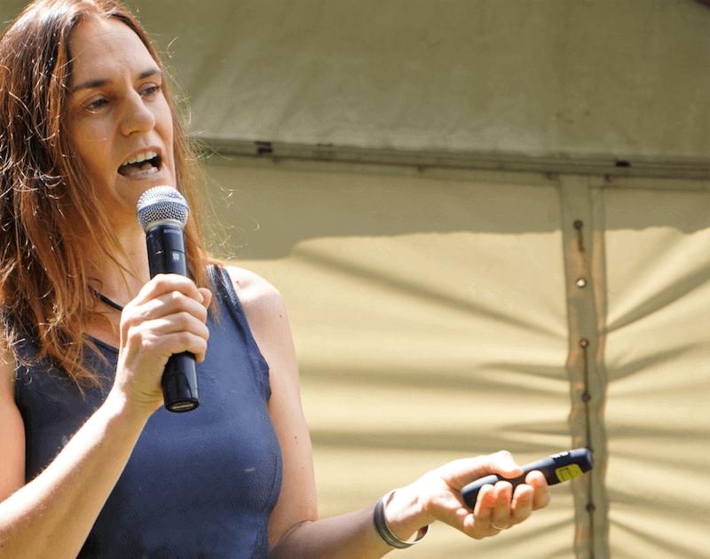 Nicole Motteux, Sustainable coffee advocate, banana farmers in Zimbabwe © Nicole Motteux, 2018