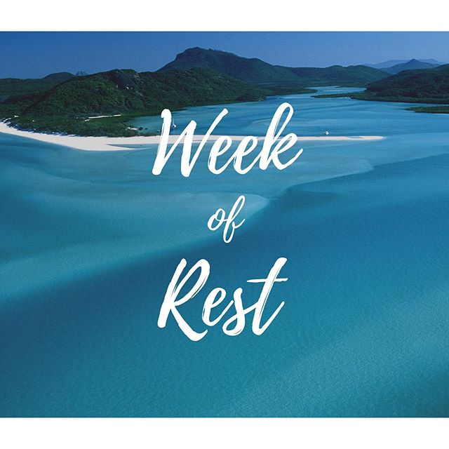 NO TUESDAY MEETING! Enjoy your time in rest! God bless!