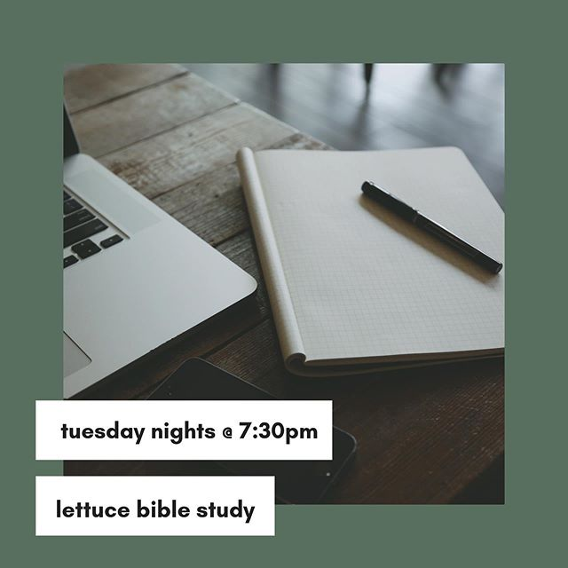 Last week a few of us had the opportunity to learn how to teach a Bible study! If you missed out, don't fret— tomorrow night we continue the lesson with a special workshop to apply what we've learned! We encourage you all to come, we'll be going over all that was at our seminar last week. We hope that this will encourage & equip you all as we look forward to returning to our Bible Sharing Series! Lastly, if you have not already, please fill out our survey! Link in bio. . . . . . #LettuceLove #LettuceFellowship #CPCWilmington