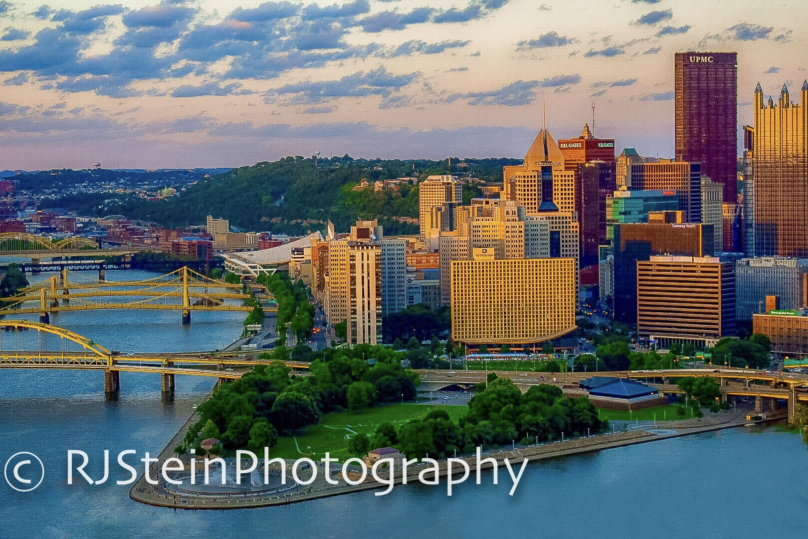 summer at the point, pittsburgh, 2018