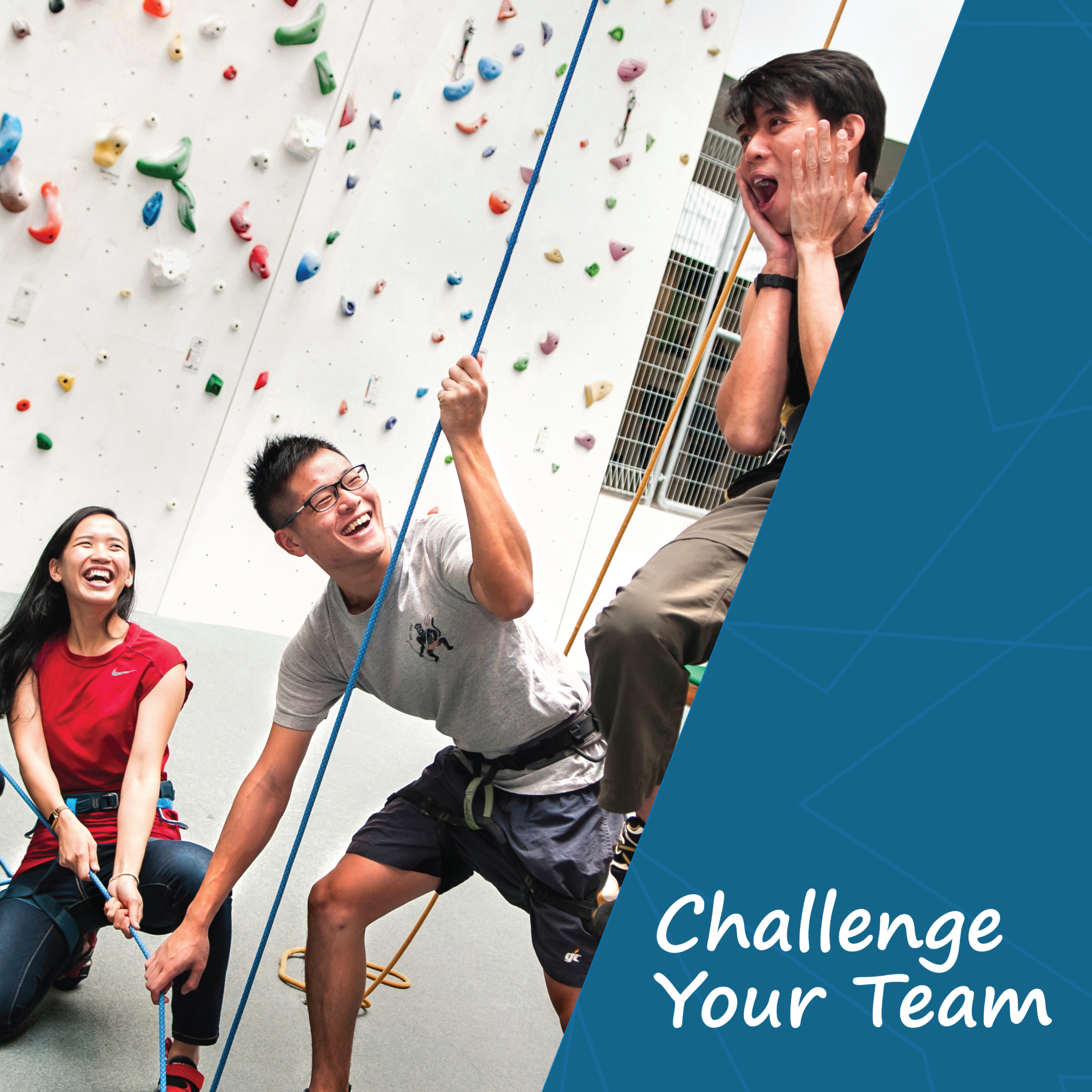 BETA CORPORATE - Challenge your team through a day of rock climbing, games and interaction!
