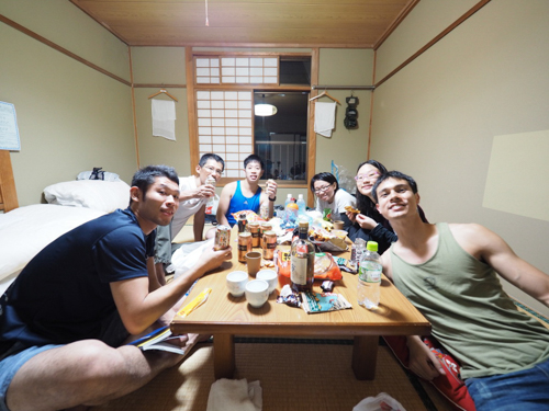 Time to chill in our rooms and binge on Japanese snacks, then head to bed to be well rested for the next day.