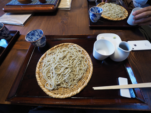 100% traditional cold soba. Making me hungry again while writing this…