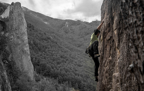 ‍Chris on Ayaka *** (5.10c / 6a)