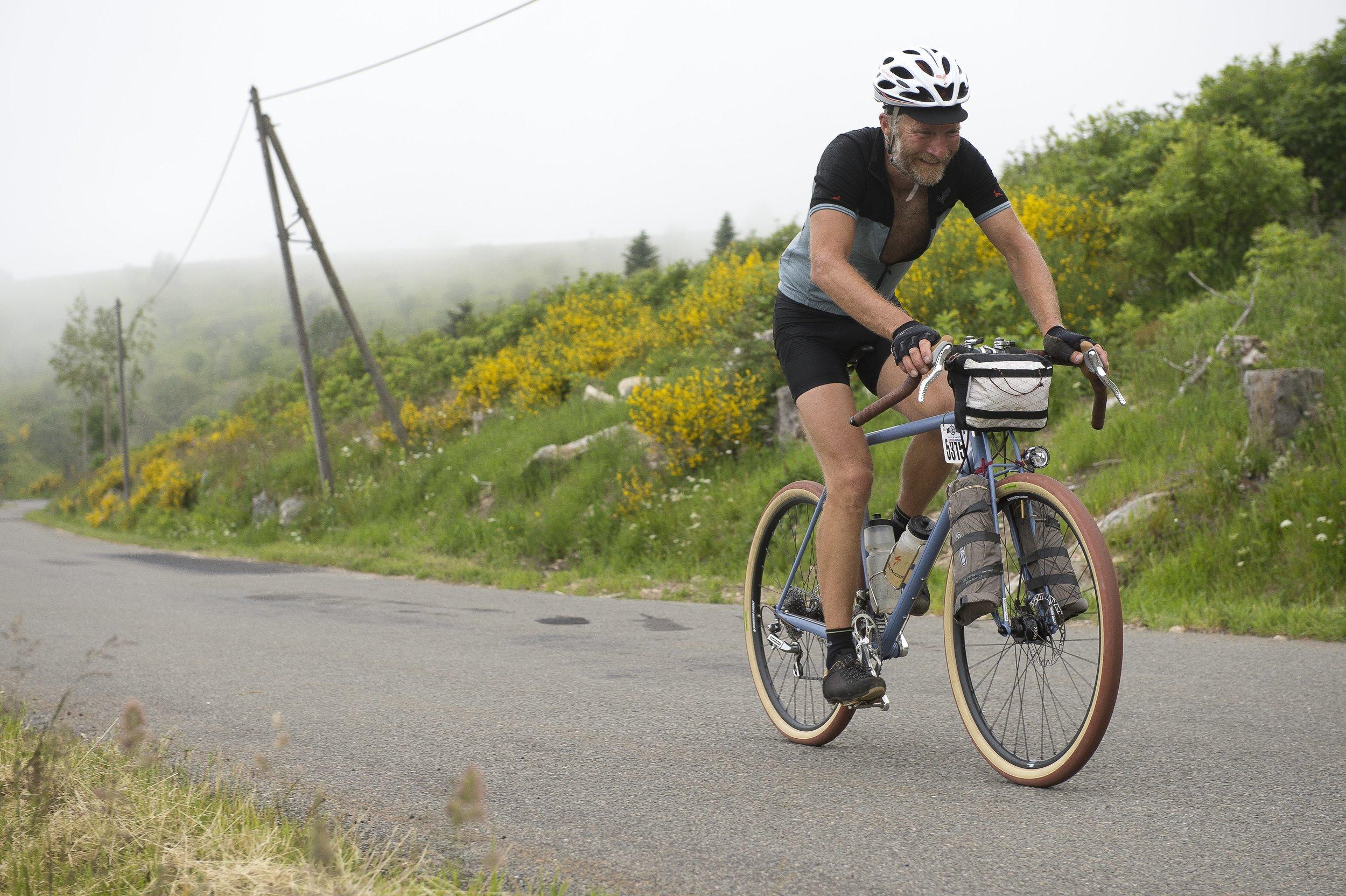 PECHTREGON lors de la montée du Béal - Photo Nicolas Joly