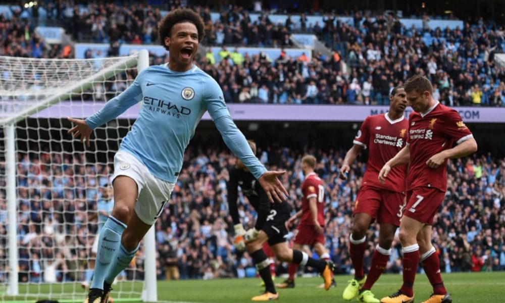 Leroy Sane. Good enough to light up the Premier League, not good enough for the German World Cup sqaud…..  Photo Credit: Talking Baws