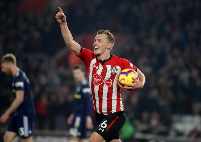 James Ward-Prowse  Credit: Southern Daily Echo