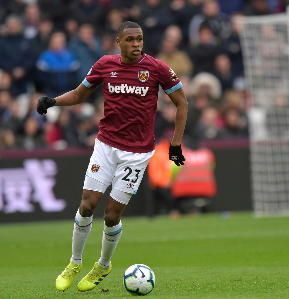 Issa Diop  Credit: Hammers News