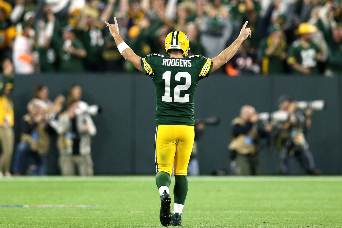 Photo: Aaron Rodgers  Dylan Buell/Getty Images