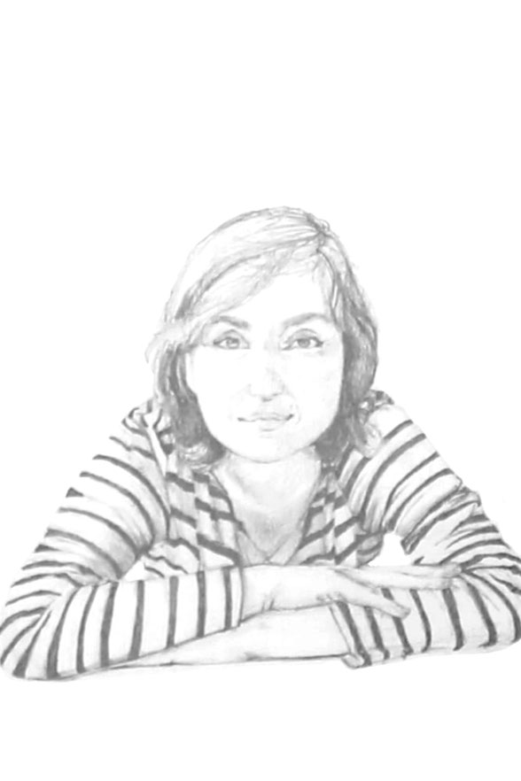 The finished drawing |  Drawing a Self-Portrait with Pencil , by The Daily Atelier