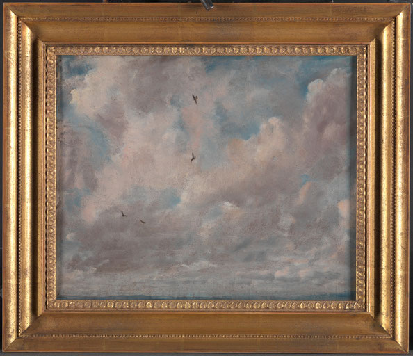 Cloud Study , John Constable, 1776–1837, British, 1821, Metropolitan Museum of Art, New York, Yale Center for British Art, Paul Mellon Collection.