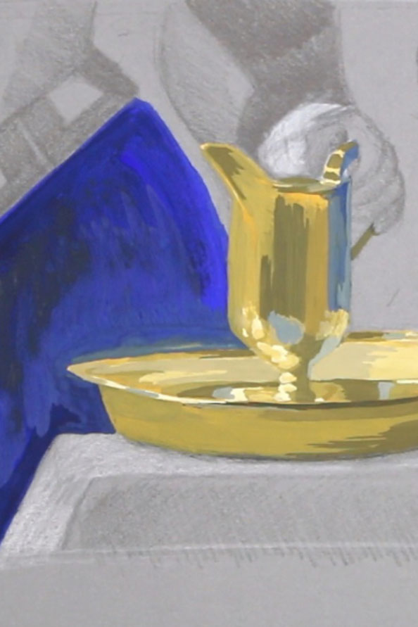 Details of the Pitcher|  Painting Vermeer's Pitcher , by The Daily Atelier