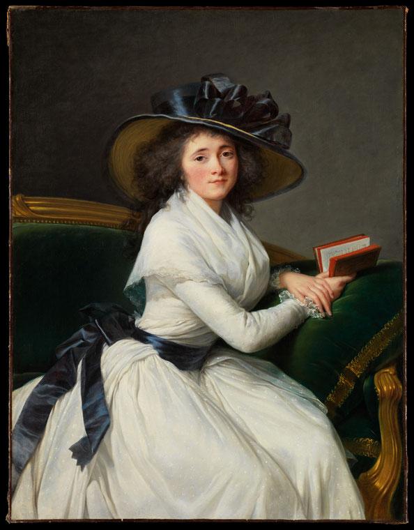 Comtesse de la Châtre , Elisabeth Louise Vigée Le Brun, 1789, Oil on canvas. Metropolitan Museum of Arts, New York, Gift of Jessie Woolworth Donahue, 1954.