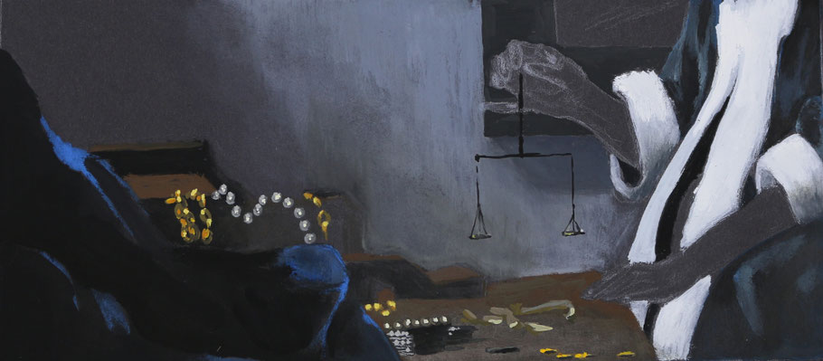 The finished painting   Painting Details after Vermeer , The Daily Atelier.