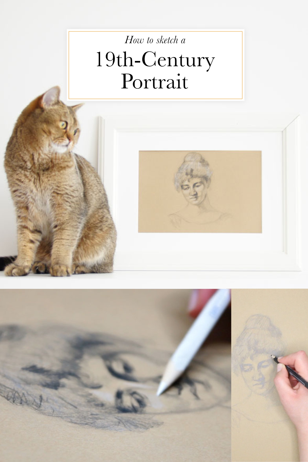 How to sketch a 19th-century portrait | The Daily Atelier