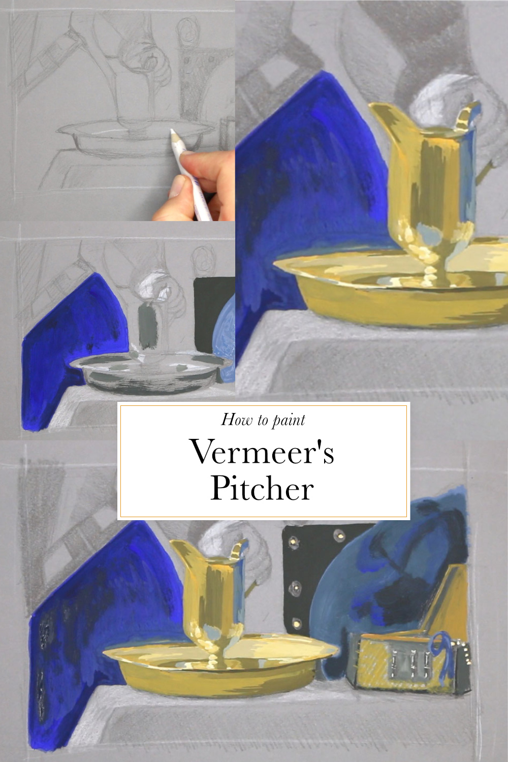How to paint Vermeer's pitcher  | The Daily Atelier