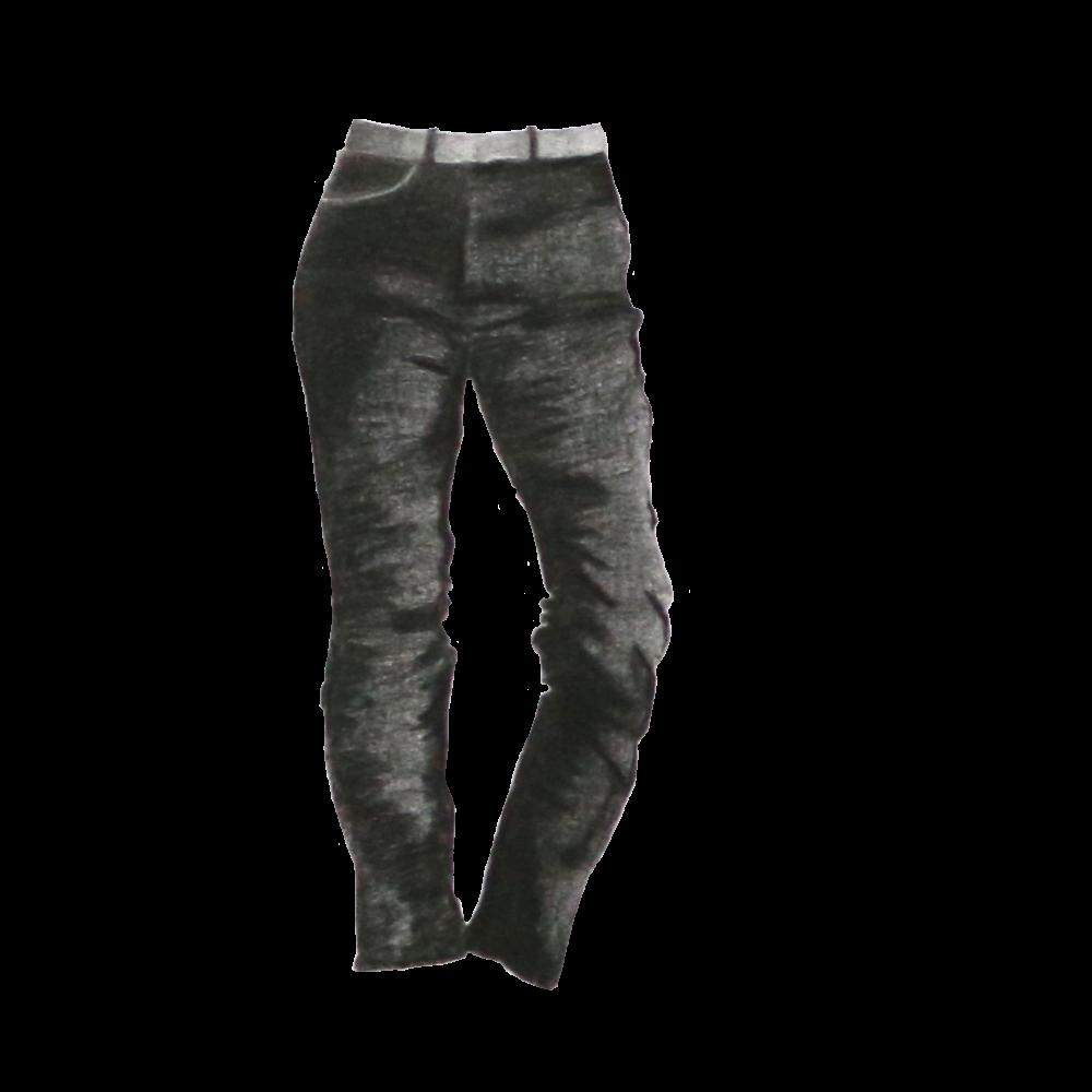 Black Jeans - Everlane, Authentic Stretch High-Rise Cigarette, size 31