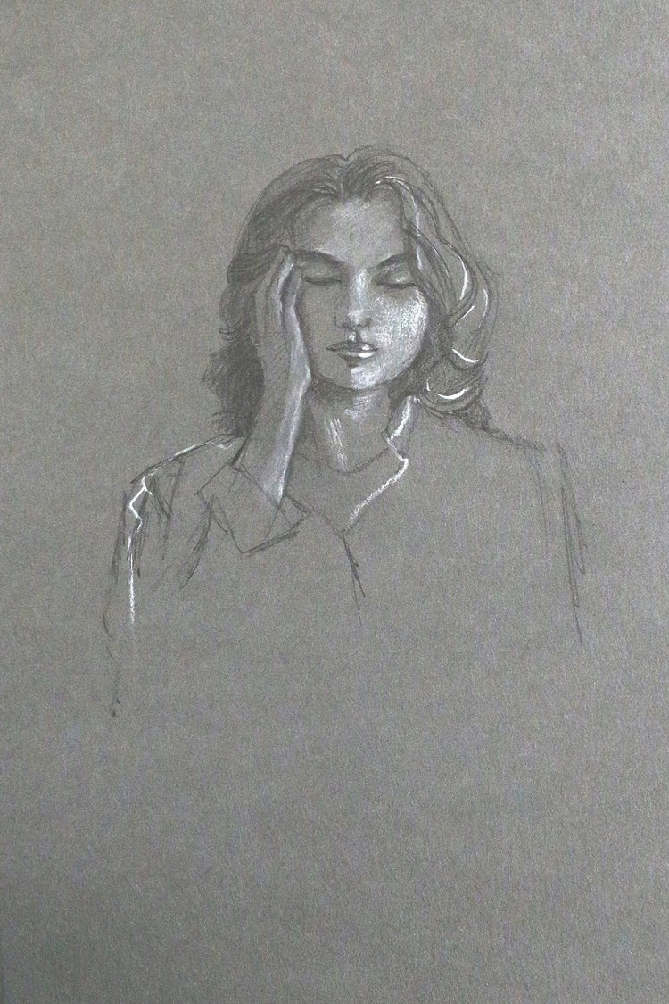 Second 10-minute sketch.