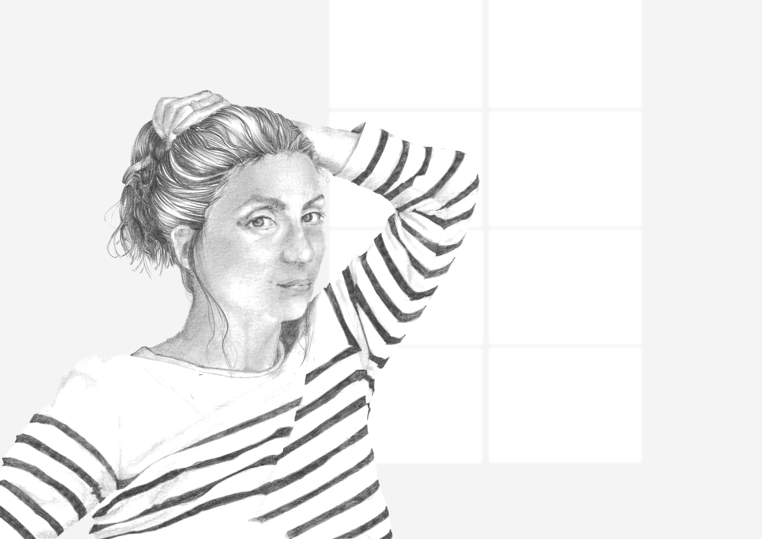Exploring other ways to draw a portrait with pencil , by The Daily Atelier