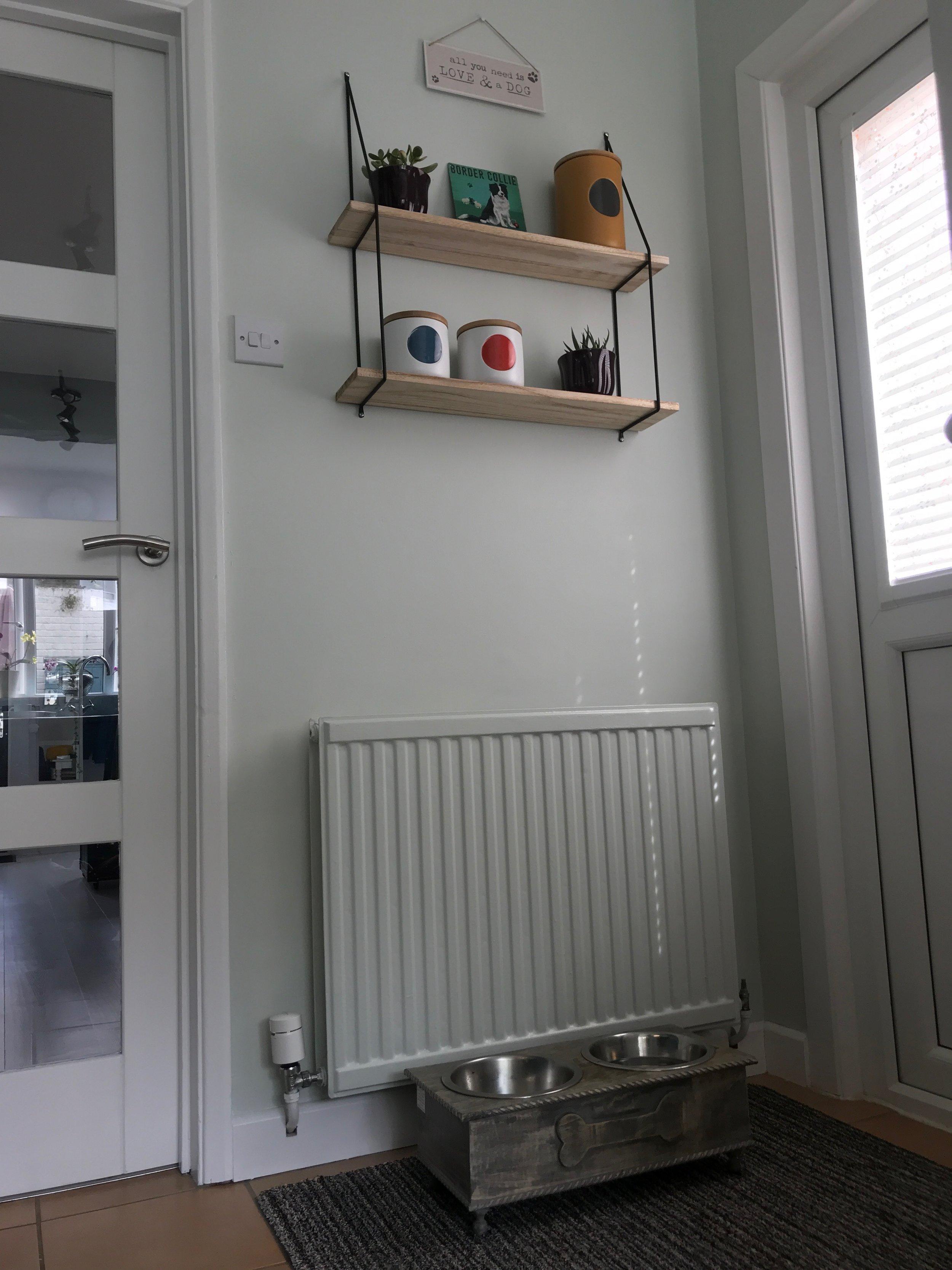 Kitchen dog corner
