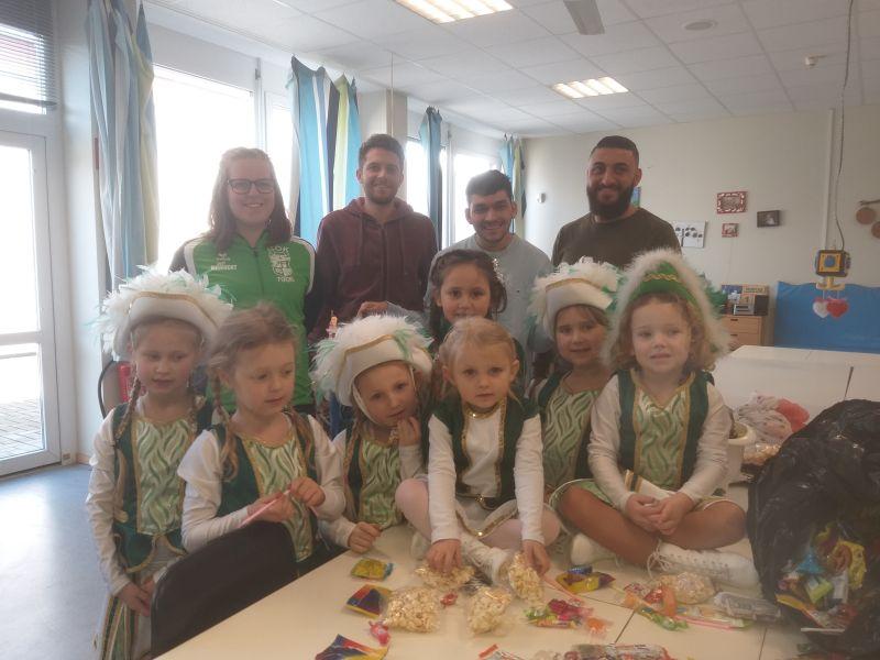 Kindergarde spendet Wurfmaterial - Zu Gast bei der Lebenshilfe
