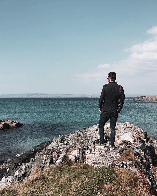 🏴🏴 Wat een waanzinnig land... #adembenemend #scotland #mannenweekend #vaderzoon