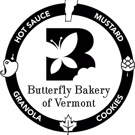 Butterfly Bakery of Vermont Round Logo