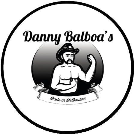 Danny Balboa's Sauce Co Round Logo