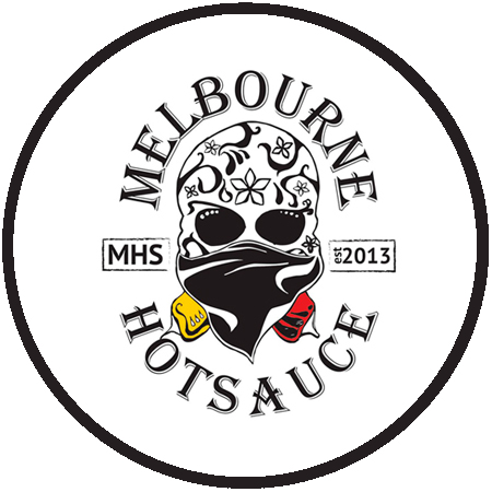 Melbourne Hot Sauce Round Logo
