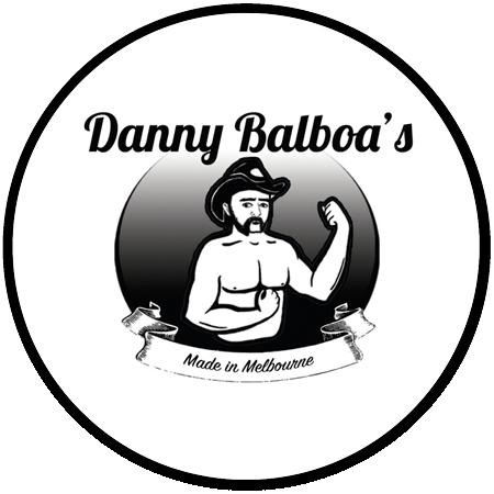 Danny Balboa's Sauce Company Round Logo
