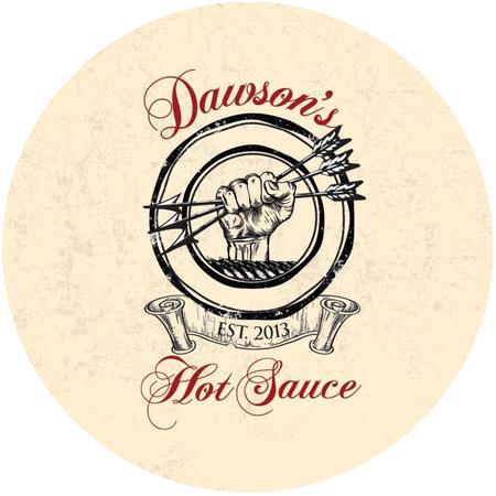 Dawson's Hot Sauce Round Logo