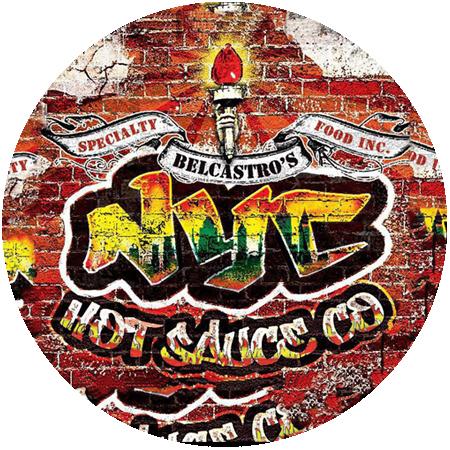 NYC Hot Sauce Company Round Logo