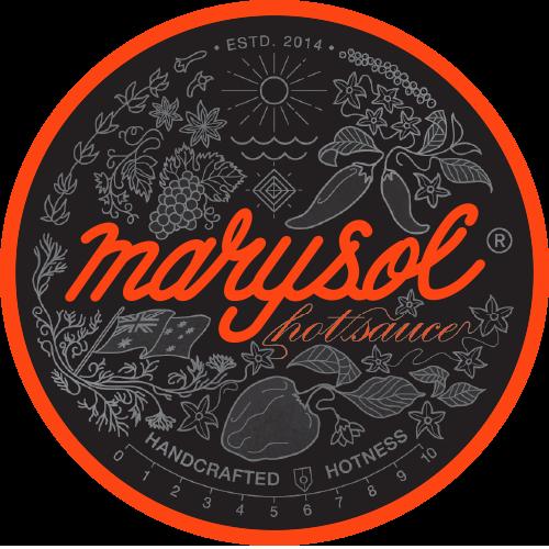 Marysol Hot Sauce Round Logo