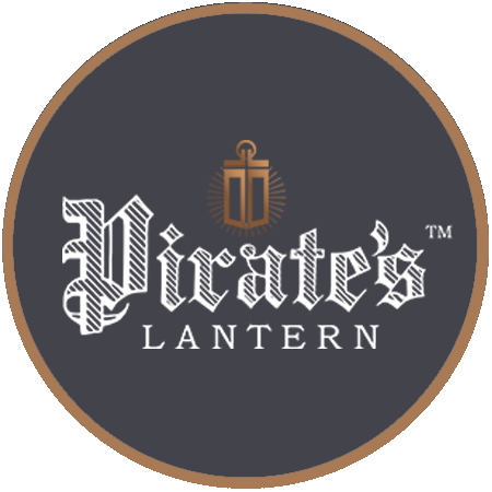 Pirate's Lantern Round Logo