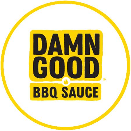 Damn Good Sauce Round Logo