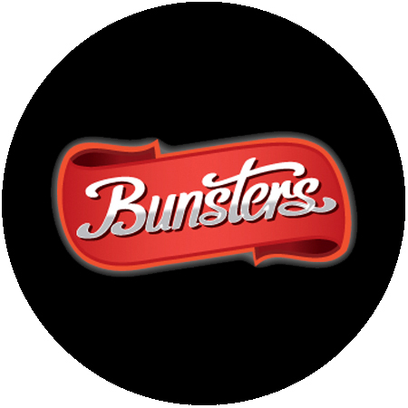 Bunsters Hot Sauce - Logo