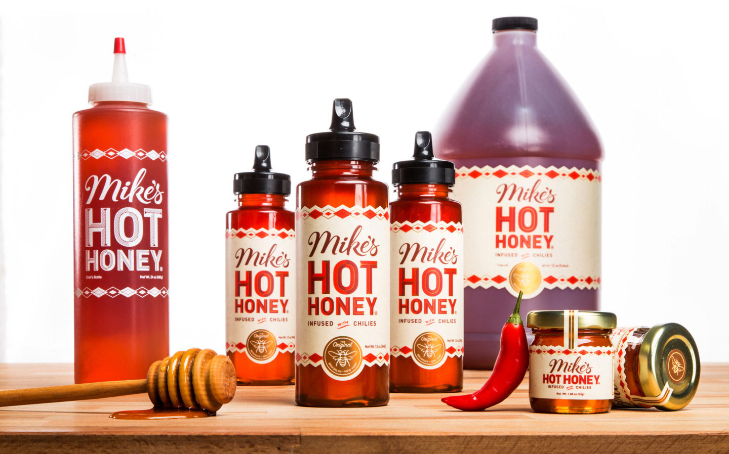 Mike's Hot Honey Products