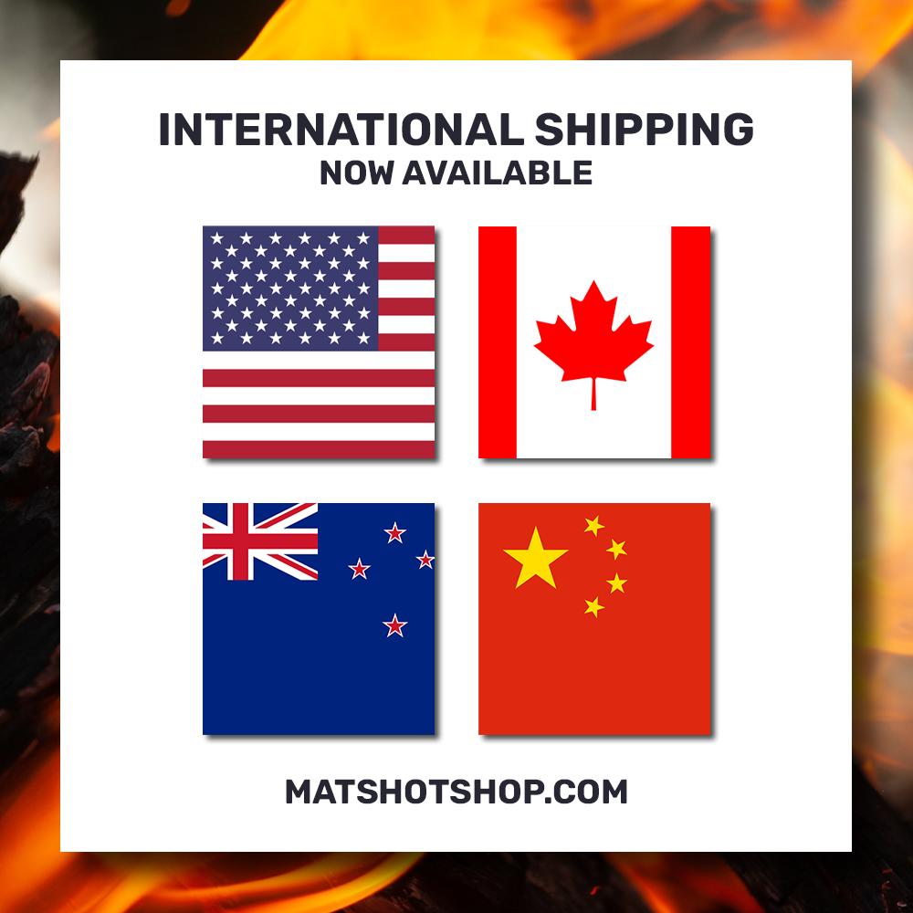 Mat's Hot Shop International Shipping