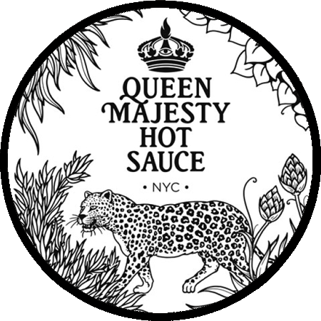 Queen Majesty Hot Sauce - Round Logo - 450px.png